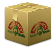 Packet zum Versenden des Saftabos